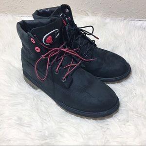 Timberland x Champion Boots Size 39 Black Red